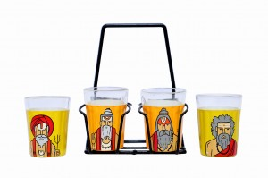 Tapri Glasses - Sadhu ( Set of 4 )