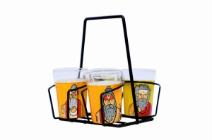 Tapri Glasses Sadhu  ( Set of 4 )