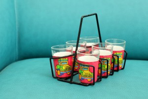 Tapri Glasses - Truck Theme ( Set of 6 )
