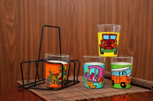 Tapri Glasses - Chalti Ka Naam Gaadi ( Set of 4 )