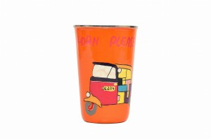 Steel Tumbler Big - Auto Orange