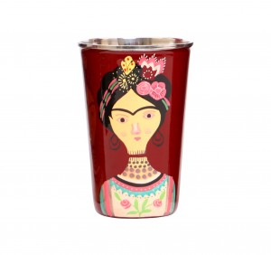Steel Tumbler Big-Lady Rose Maroon
