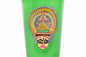 Stainless Steel Tumbler Big - KathaKali Green