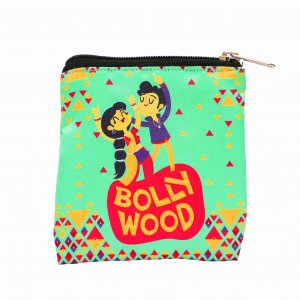 Coin Pouch - Bollywood Theme