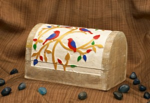 Jewellery Box-Bird Colourful