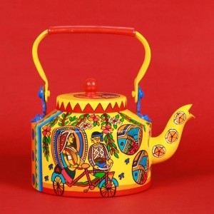 Kettle - Indian Madhubani