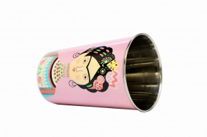 Stainless Steel Tumbler - Lady Rose Pink