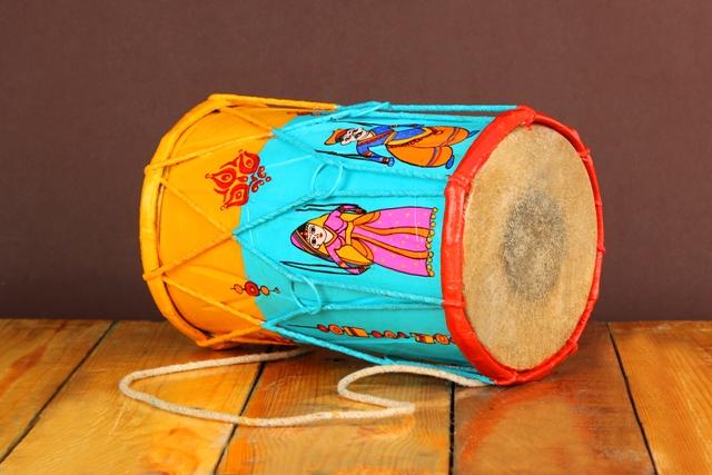 Wooden Dholak - Bunty Aur Babli