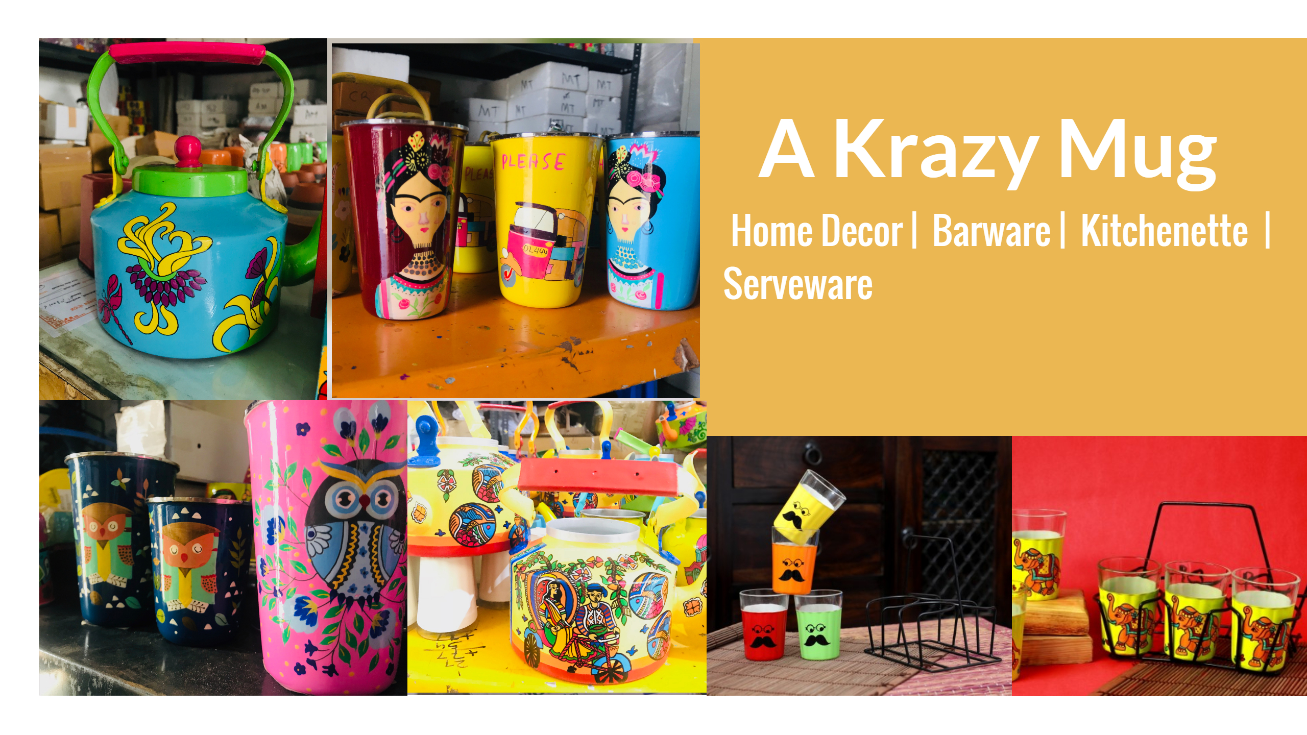 #Top3 Genre of Products - Go To Buy's This Diwali | Enlighten Your Diwali By The Perfect Home Decor and Serveware Accessories | Only By A Krazy Mug